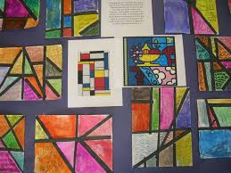 britto garden the elementary art room mondrian meets britto
