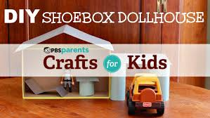 diy shoebox dollhouse crafts for kids pbs parents youtube