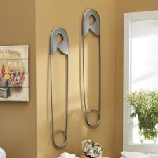 Laundry Room Wall Decor by Amazing Safety Pin Wall Decor Inspirations Interior Decoration