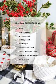 9 essentials for holiday entertaining the everygirl