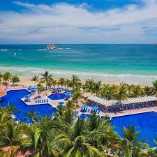ideal resort map barceló ixtapa all inclusive hotel barcelo