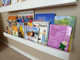pieces by polly easy front facing picture book display shelves