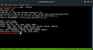 kali linux latest tutorial how to encrypt decrypt a file in linux using gpg kali linux