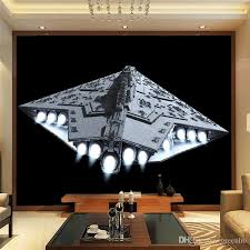 Star Wars Bedroom Paint Ideas Incredible Ideas Star Wars Wall Mural Exciting 3d Spacecraft Photo