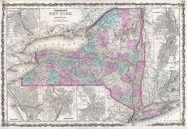 map of state of ny file 1862 johnson map of new york state geographicus ny