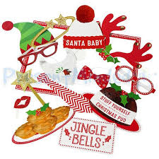 christmas photo booth props diy photo booth christmas crowd design diy photo booth props