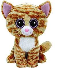 amazon ty beanie boo tabitha tabby cat medium toys u0026 games