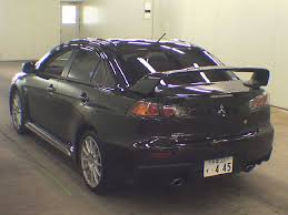 mitsubishi gsr 2017 japanese car auction find u2013 2013 mitsubishi lancer evo gsr