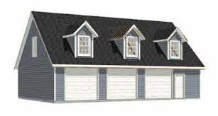 garage plans three car garage with loft apartment rafter version