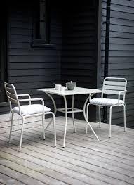 Patio Furniture Sets Uk - dean street set in clay steel garden trading