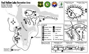 Lake Havasu Map Fool Hollow Lake Recreation Area Maps Fool Hollow Lake
