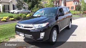 toyota highlander hybrid 2012 2012 toyota highlander hybrid limited review and test drive