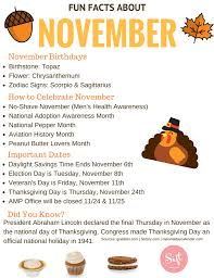 collection november facts and dates photos daily quotes about