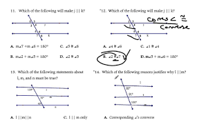 proving lines parallel worksheet answers 28 templates parallel
