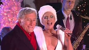 Christmas Tree Lighting Rockefeller 2014 by Lady Gaga Cleavage Flashing Performance At At Rockefeller