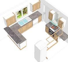 plans cuisine dessiner une cuisine en 3d gratuit gallery of concevoir sa cuisine