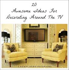 decorating around the tv 20 elegant inspiring ideas laurel home