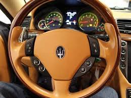 maserati steering wheel 2008 maserati granturismo in riverside ca black label auto firm
