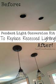 Instant Pendant Light Lowes Worth Instant Pendant Light Recessed Conversion Kit To Lowes