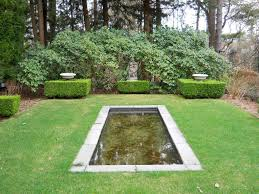 garden ideas garden pond design with rectangular pond shaped and