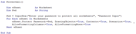 protect unprotect multiple worksheets u003c thought sumproduct are
