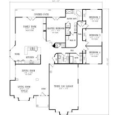 houseplans com main floor plan plan 1 672 make garage entrance