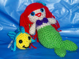 crocheted mermaid flounder free crochet