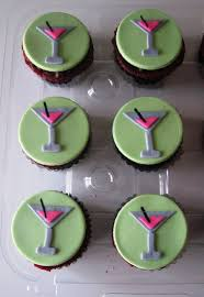 martini birthday cake heavenly bites cakes martini cupcake toppers