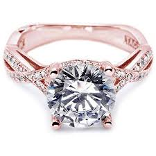 pink gold engagement rings 2013 engagement trends gold engagement rings mervis