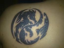 couple yin yang tattoo design in 2017 real photo pictures