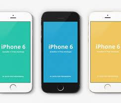 huge list of free iphone 6 mockup design templates psd ai