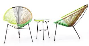 Acapulco Outdoor Chair Acapulco Chairs U0026 Table 3pc Woodstock Edition Kardiel