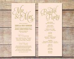 programs for a wedding gold wedding programs wedding program template by karlykdesignshop