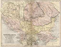 Romania Map Maps Of Romania And The Roman Empire