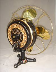 vintage fans emerson tripod fan 1899