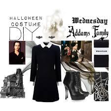 Wednesday Addams Halloween Costumes Diy Halloween Costumes Addams Family Polyvore