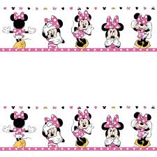 Discount Wallpaper Borders Mickey And Minnie Mouse Wall Border Baby Wall Kids Birthdays