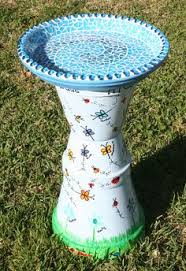 Flower Pot Bird Bath - tracy u0027s trinkets and treasures what can you do with a clay pot