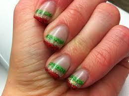 christmas karen u0027s nails