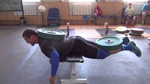 bench press 100kg vladislav rigert dmitry klokov 100kg weighted back extension