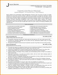 Construction Project Manager Resume Sample by Building Project Manager Resume Contegri Com
