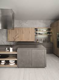 fitted kitchen design fitted kitchen with island without handles cloe composition 2