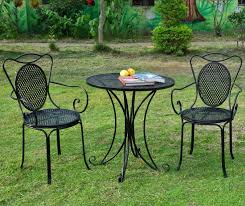 Metal Garden Chairs And Table Elegance Rod Iron Chairs For Terrace Design Ideas And Decor