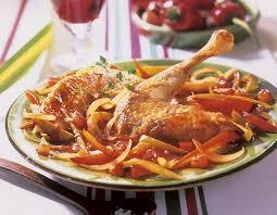 cuisine poulet poulet basquaise recettes cuisine française