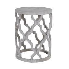 Quatrefoil Side Table Shabby Chic Quatrefoil Side Table Shropshire Design