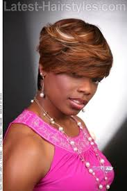 feathered sides on a short haircut 16 side swept hairstyles for black women with class