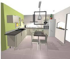 Cuisine Ouverte Salon Petit Espace by Plan De Cuisine Ouverte Cuisine Laque Blanche Plan De Travail