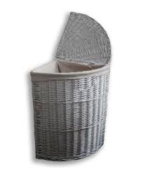 large wicker baskets with lids large willow wicker corner laundry basket with lid in white