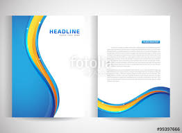 abstract vector modern flyers brochure annual report design
