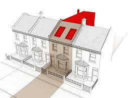 L Shaped Houses by L Shaped Loft Conversion Plans Terrace Google Search Zehra